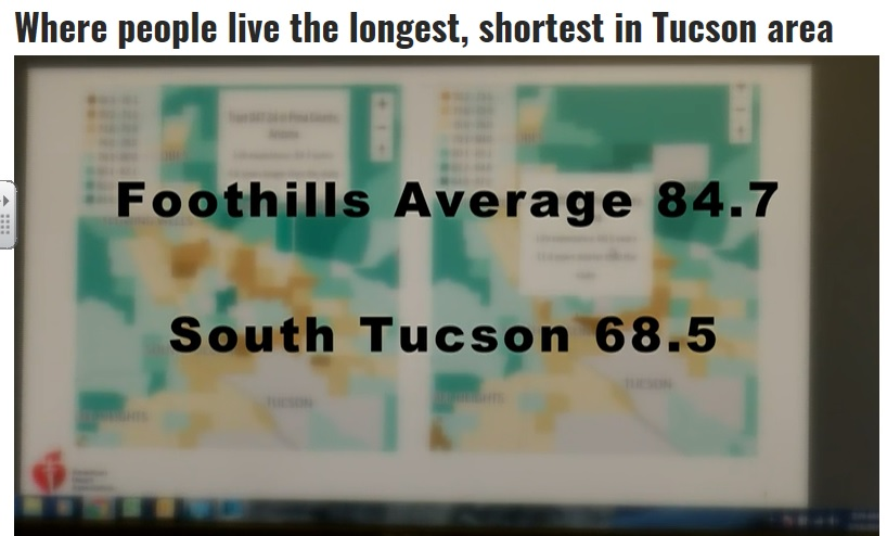KOLD Report: Where people live the longest, shortest inTucson